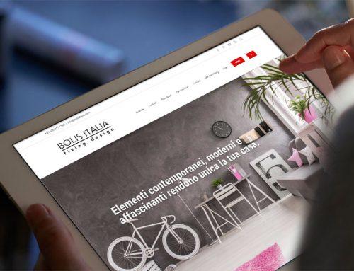 The new Bolis Italia Website